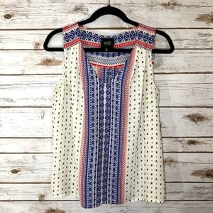 Anthropologie W5 Sleeveless Blouse